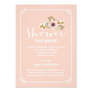 SHOWER THE BRIDE   BRIDAL SHOWER INVITATION