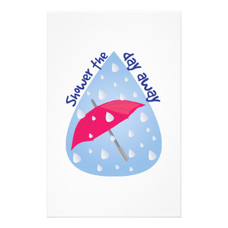 Shower The Day Away Stationery