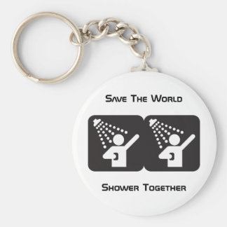 Shower Together Keychain
