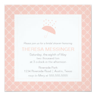 Showered with Love- Bridal Shower Invitation