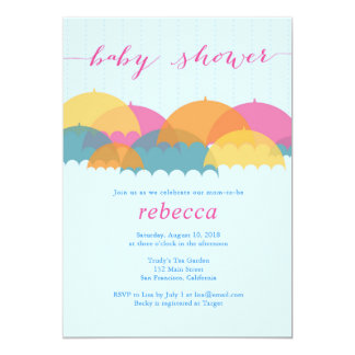 Showering with Love Baby Shower Invite