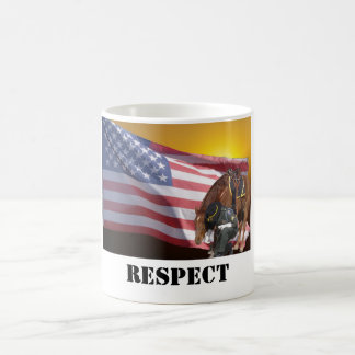 Showing Respect Classic White Coffee Mug