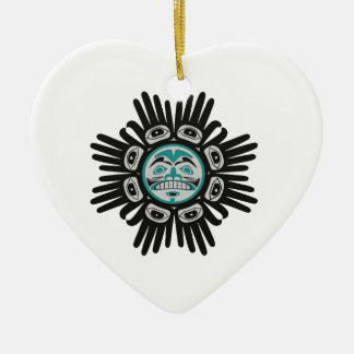 SHOWS THE WAY CERAMIC HEART DECORATION