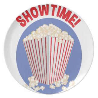 Showtime Party Plates