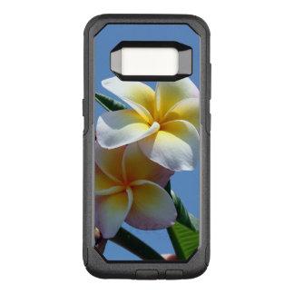 Showy Plumeria Frangipani Blooms OtterBox Commuter Samsung Galaxy S8 Case