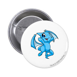 Shoyru Blue 6 Cm Round Badge