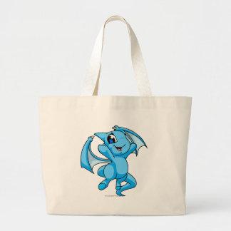Shoyru Blue Jumbo Tote Bag