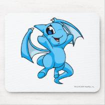 Shoyru Blue mouse pads