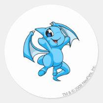 Shoyru Blue stickers