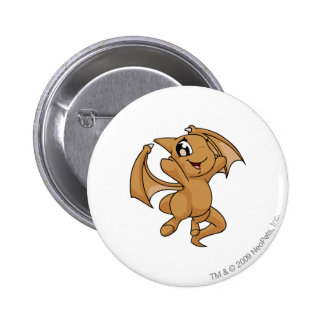 Shoyru Brown 6 Cm Round Badge