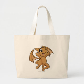 Shoyru Brown Jumbo Tote Bag