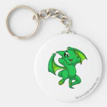 Shoyru Green key rings