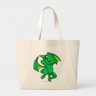 Shoyru Green Jumbo Tote Bag