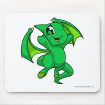 Shoyru Green mouse pads