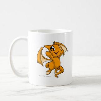 Shoyru Orange Basic White Mug