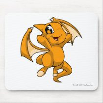 Shoyru Orange mouse pads