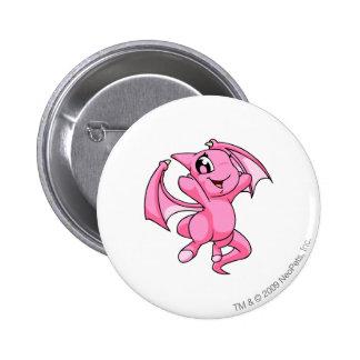 Shoyru Pink 6 Cm Round Badge