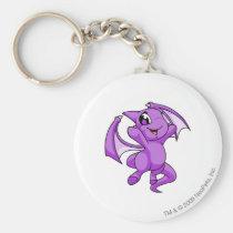 Shoyru Purple key rings
