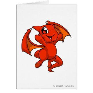 Shoyru Red Greeting Card
