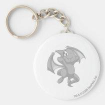 Shoyru Silver key rings