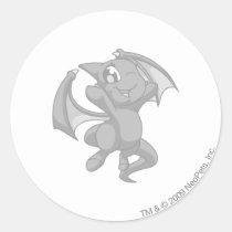 Shoyru Silver stickers