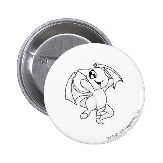 Shoyru White 6 Cm Round Badge