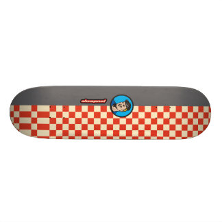 Shrapnel Mechanic Custom Skateboard