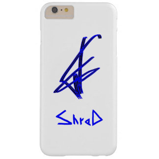 Shred snowboarder blue barely there iPhone 6 plus case