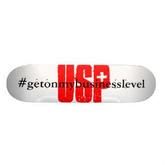 Shred that U S P Custom Skate Board