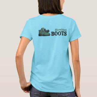 Shredded Boots Logo Tee
