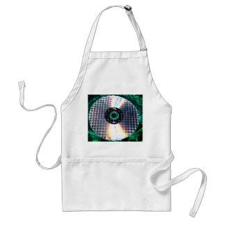 Shredded Disco Galaxy CD Adult Apron