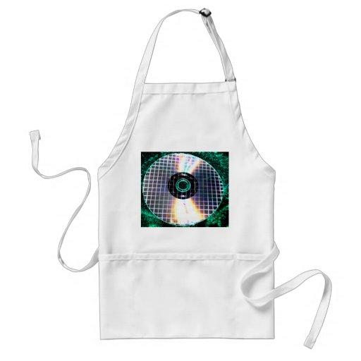 Shredded Disco Galaxy CD Aprons