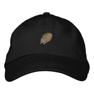Shredded Football Embroidered Hat