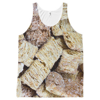 Shredded Wheat All-Over Print Singlet