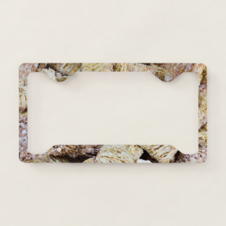 Shredded Wheat Licence Plate Frame
