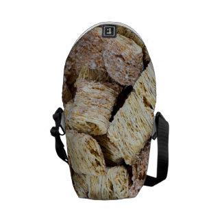 Shredded Wheat Messenger Bags