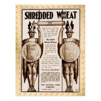 Shredded Whole Wheat - for Bone, Brawn and Brain Postcard
