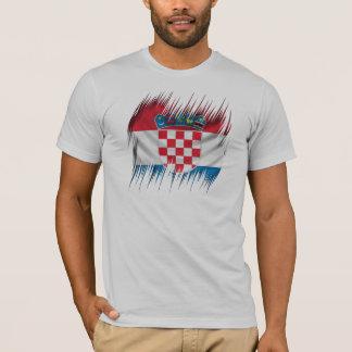Shredders Croatian Flag T-Shirt