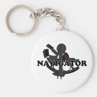 Shredders Navigator Basic Round Button Key Ring