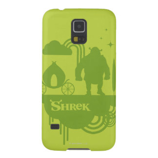 Shrek Fairy Tale Silhouette Cases For Galaxy S5