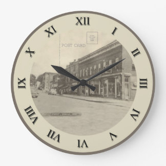 Shreve Ohio Post Card Clock - Market Street