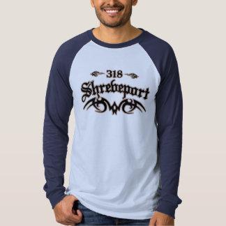 Shreveport 318 tee shirts