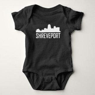 Shreveport Louisiana City Skyline Baby Bodysuit