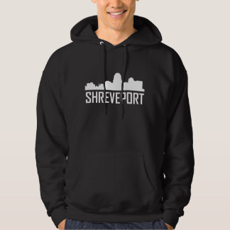 Shreveport Louisiana City Skyline Hoodie
