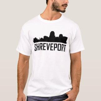 Shreveport Louisiana City Skyline T-Shirt