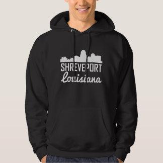 Shreveport Louisiana Skyline Hoodie