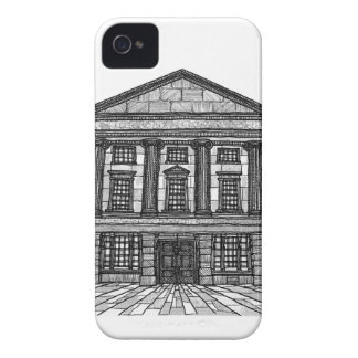 Shrewsbury Museum and Art Gallery black and white iPhone 4 Case-Mate Case