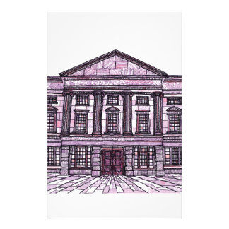 Shrewsbury Museum and Art Gallery magenta Stationery