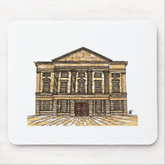 Shrewsbury Museum and Art Gallery sepia Mouse Pad