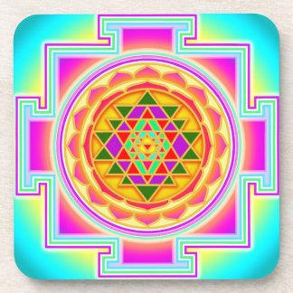 Shri yantra coasters